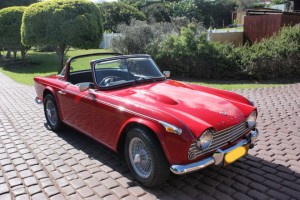 TR4A front